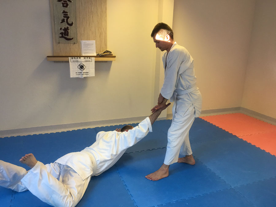 【Series of Jujutsu's KUDEN (口伝)】No2  Kote Hineri Fudo (小手捻り不動)