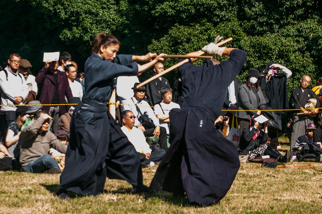 """TIME""–Kobudo Enbu Taikai 2017 in the Meiji Jingu"