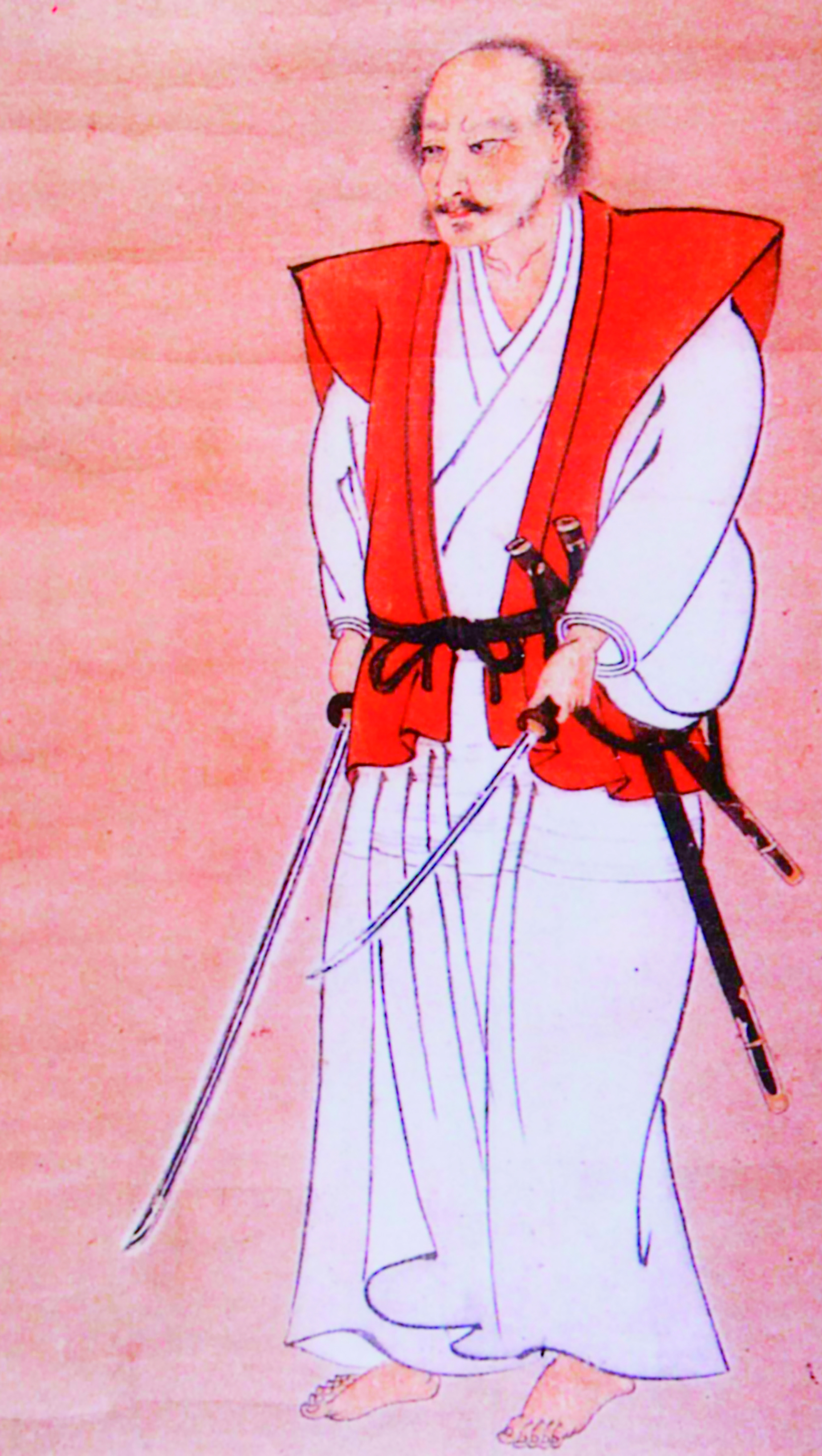 The Brush is the Sword of the Mind(Miyamoto Musashi
