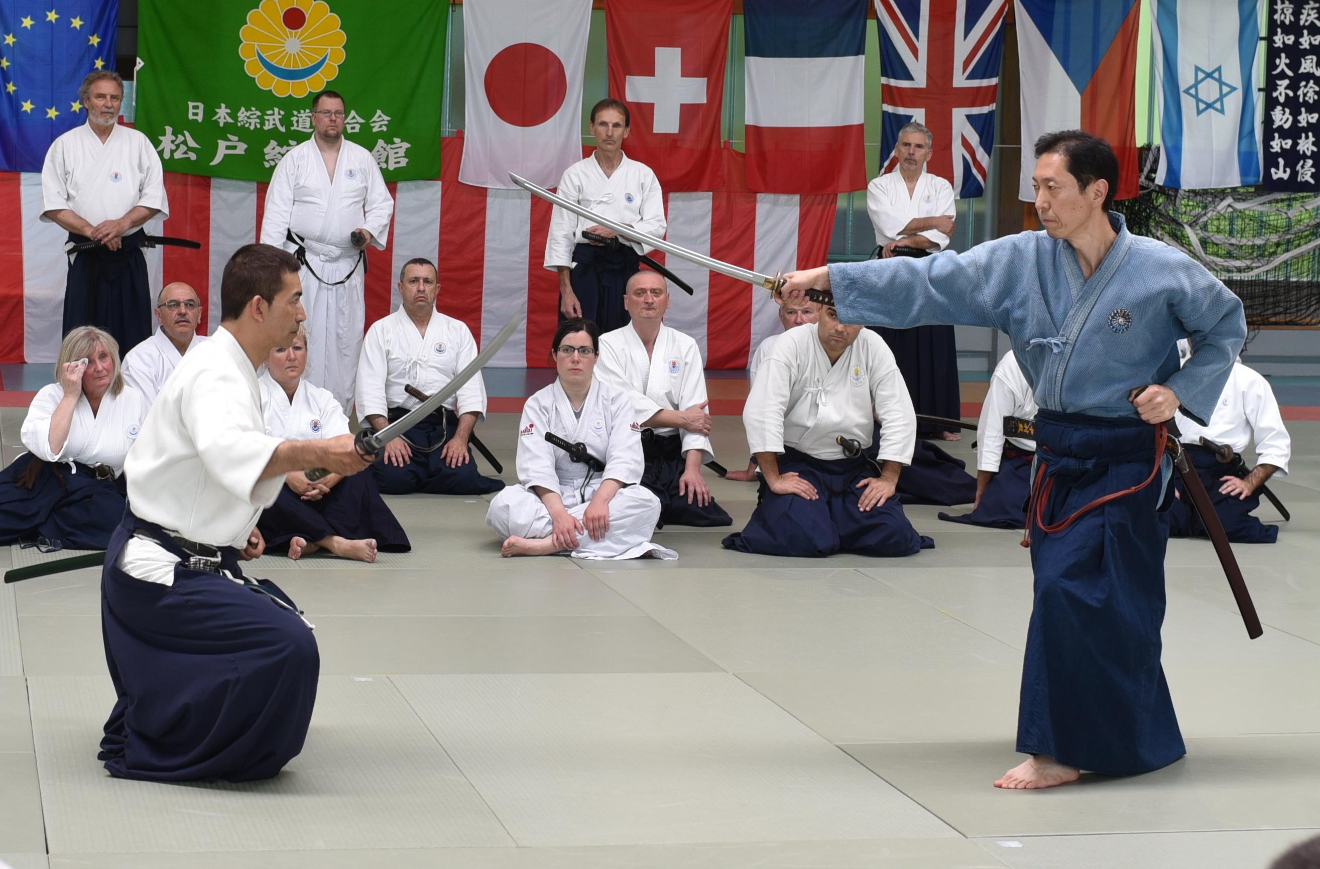 The week long training trip in Europe by Takedaryu-Nakamura ha