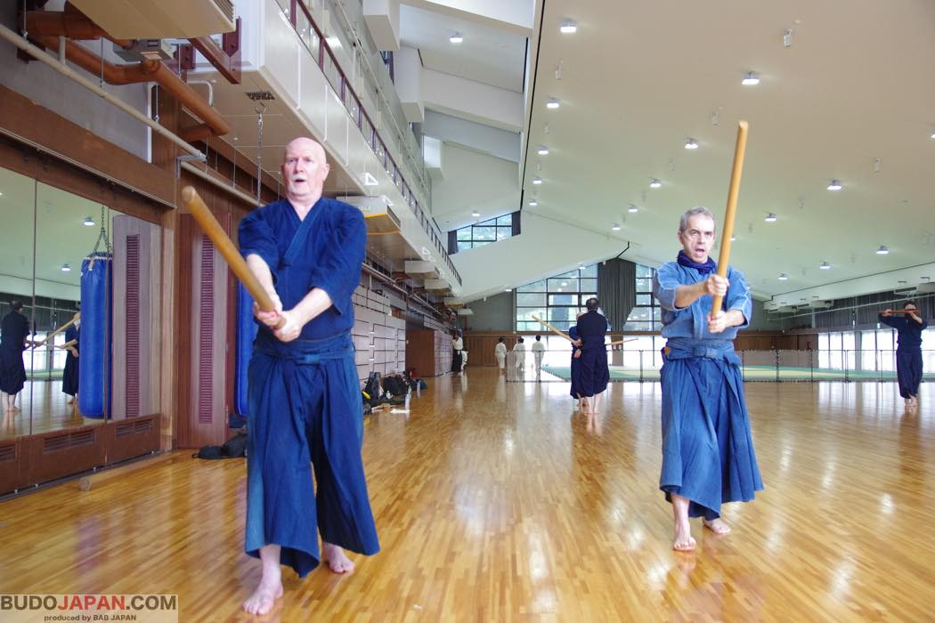 Kashima Shinden Jikishinkage-ryu: breath in, breath out, step in, step out