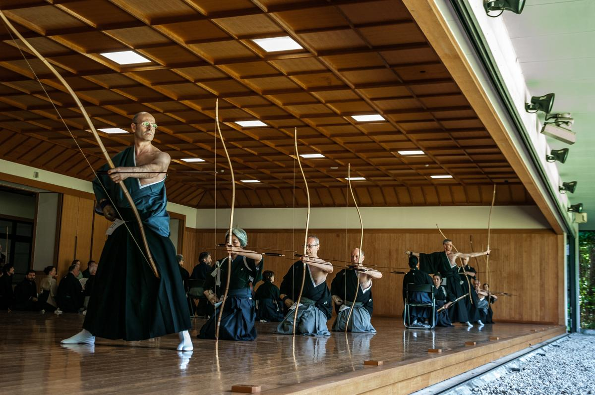 Shooting for the truth: 3rd World Kyudo Taikai & 4th International Kyudo Seminar in Tokyo