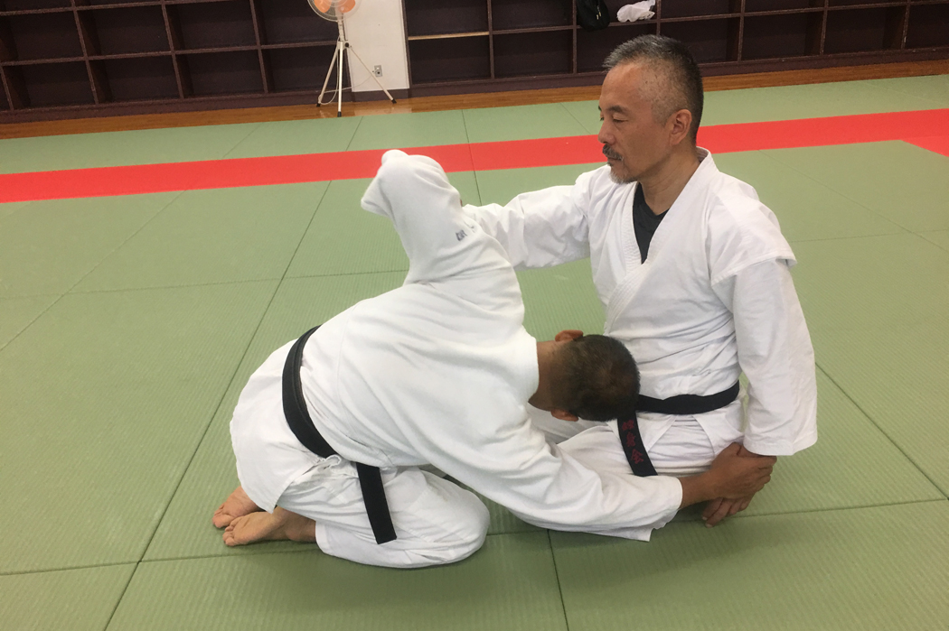 【Series of Jujutsu's KUDEN (口伝)】No8 Tenchi Nage(天地投げ)