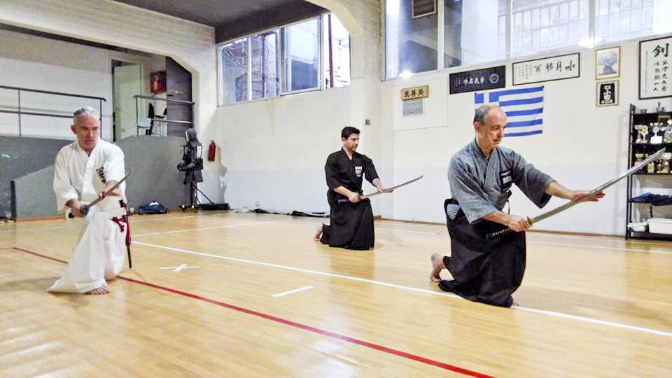 [Monthly column] Worldwide Koryu Dojo Report  Vol.1 Muso Jikiden Eishin-ryu dojo Furyu from Athens, Greece