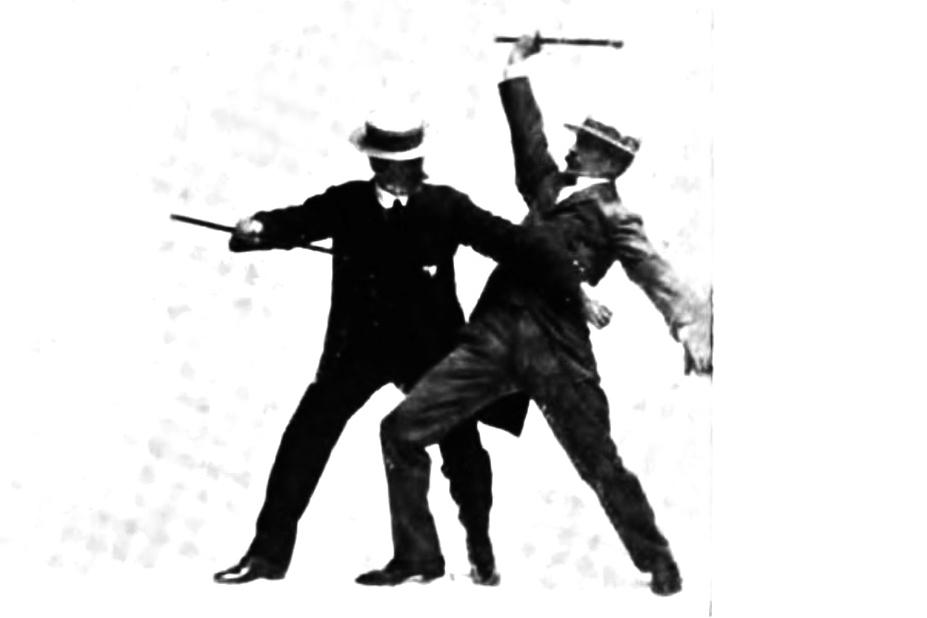 Self-Defense with a Walking-Stick By E.W. Barton-Wright Vol.2