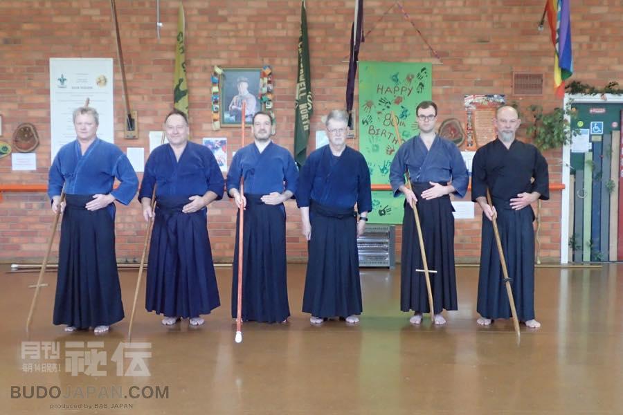 [Monthly column] Worldwide Koryu Dojo Report  Vol.12  Tatsumi-ryu & Toda-ha Buko-ryu in Melbourne